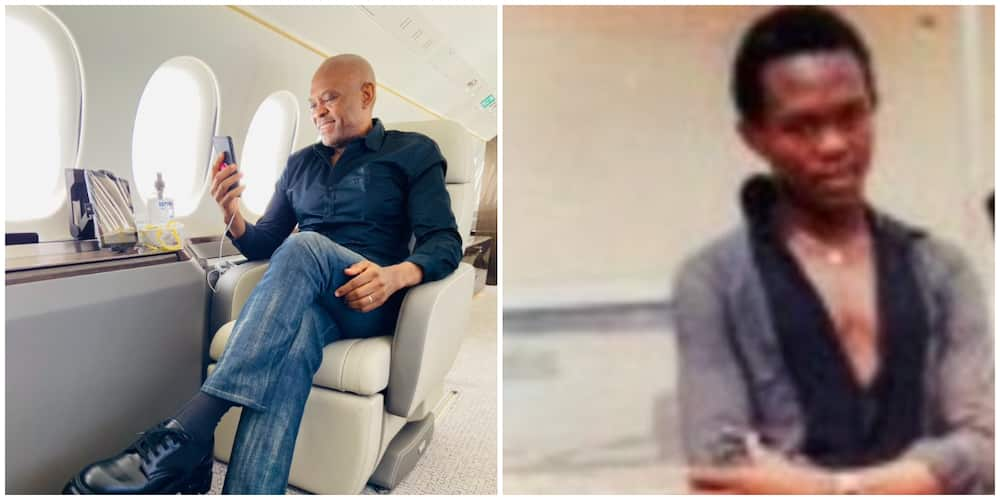 Nigerian Billionaire Tony Elumelu Causes 'commotion' on Social Media with His Throwback Picture