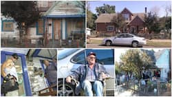 Kind young man helps old man whose house was described as the ugliest, he calls people who repaint it