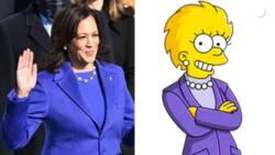 How The Simpsons cartoon predicted Kamala Harris as vice president (see photos)