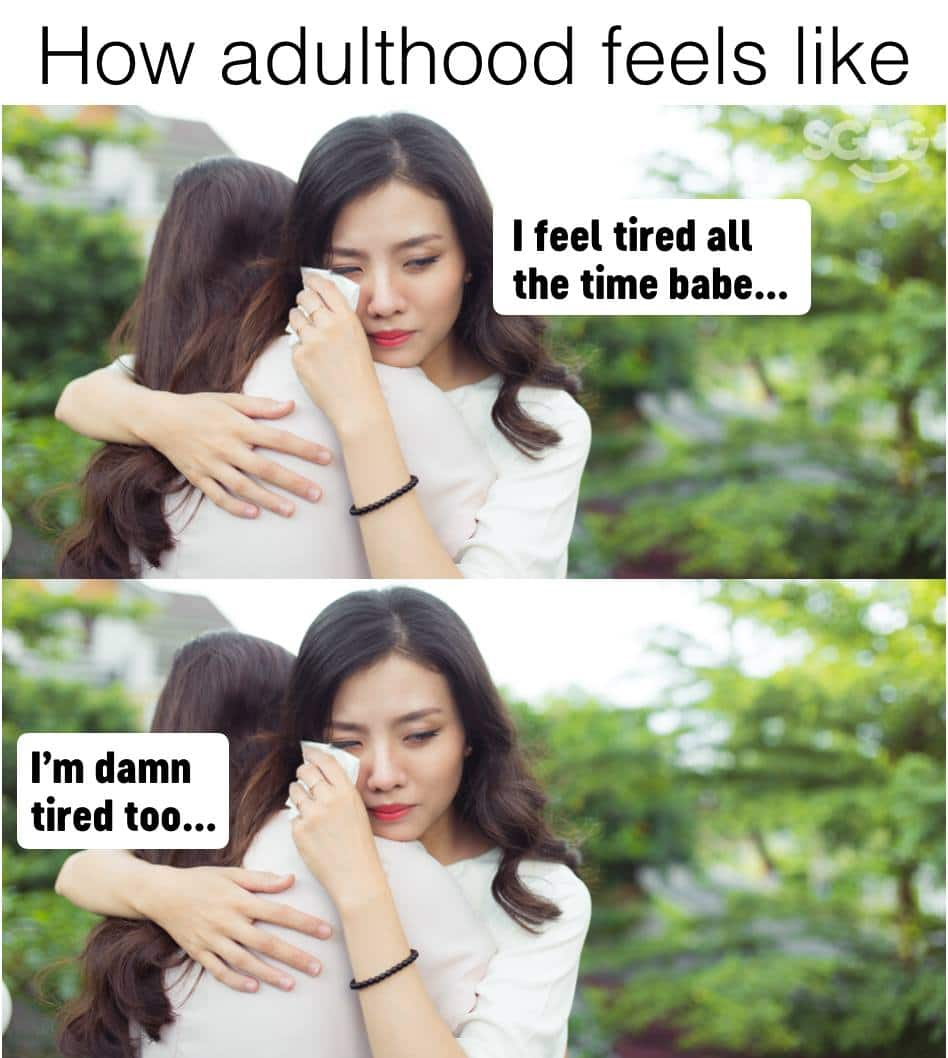 30+ relatable tired meme ideas to exchange with your coworkers