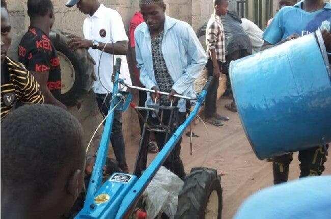 Hoodlums finally return looted items in Adamawa after Fintiri's threat