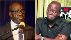 3 months after settling dispute, Oshiomhole resumes political battle with Obaseki