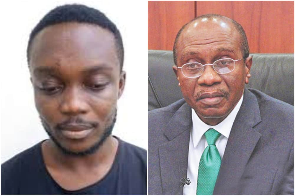 Fake CBN governor Emefiele arrested by EFCC in Imo