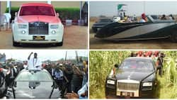 4 Nigerian monarchs who own Rolls-Royce cars, one has his customized like that of the Queen of England