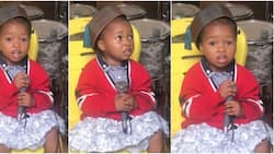 2-year-old girl sings Oniduro Mi with angelic voice in cute video, many say she's perfect on the mic