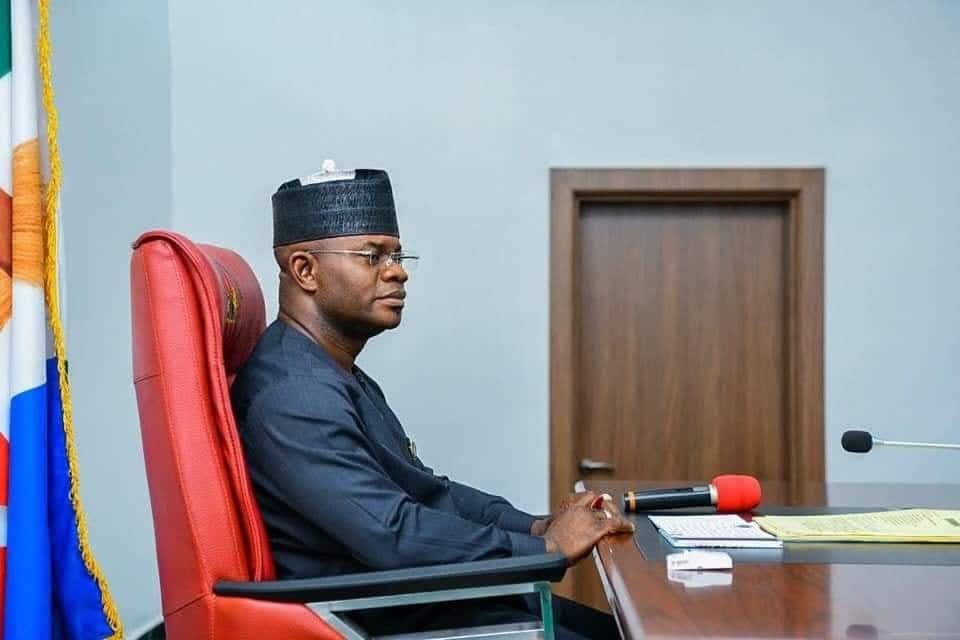 Yahaya Bello says Nigeria will be safe when politicians stop using thugs
