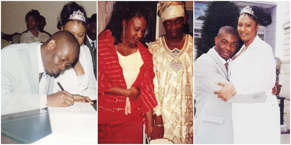 Nigerians react as more photos from Don Jazzy's previous marriage surface on social media