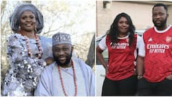 Nollywood actor Tayo Adeleye finally off the market, gets married to beautiful bride (photos)