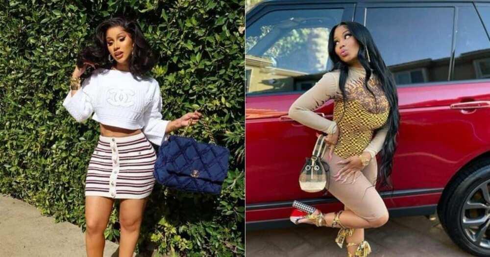 Cardi B, responds, rumours, intention, knock Nicki Minaj out