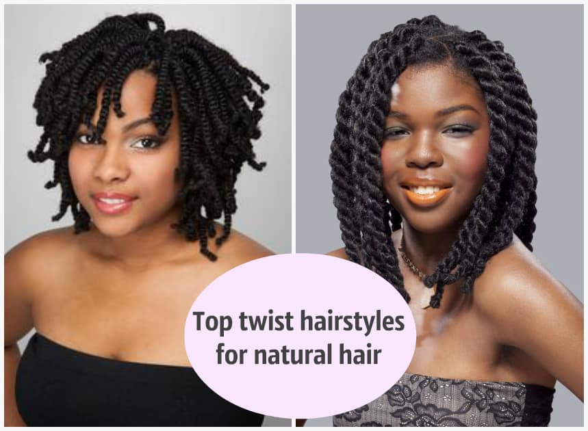Top twist hairstyles for natural hair ▷ Legit.ng