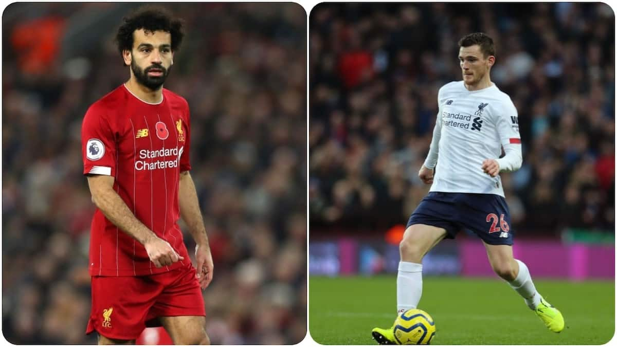Salah, Robertson reportedly doubtful for Liverpool EPL clash vs Crystal Palace