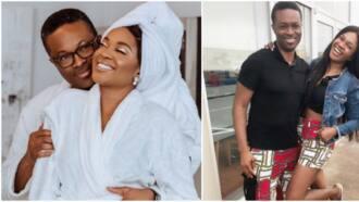 Actress Omoni Oboli shares loved-up photo, pens sweet note as she celebrates 21st wedding anniversary