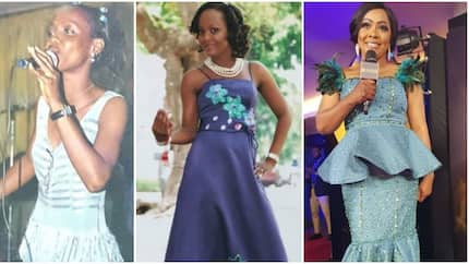 Nigerian comedienne Helen Paul shares old and recent photos side by side to show off her transformation