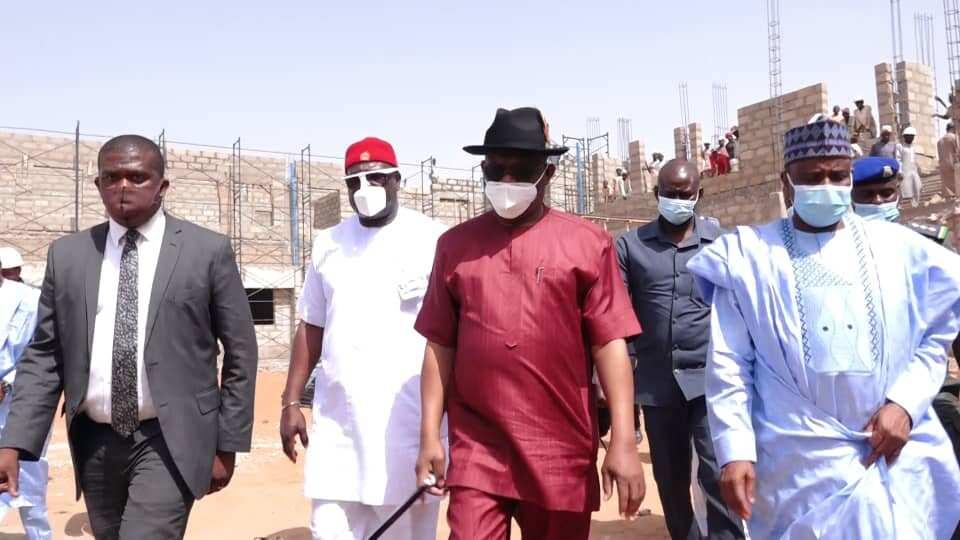 Nigerians react as Wike donates N500million to rebuild Sokoto market