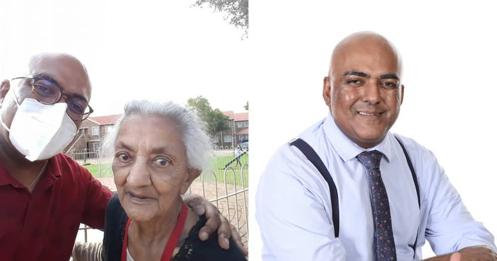SA man takes 100 year old mum for a walk, shares heartwarming picture