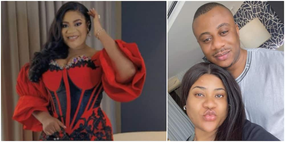 Nkechi Blessing says her colleagues send messages to her man