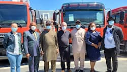 Federal Fire Service to acquire 15 new set of fire fighting trucks