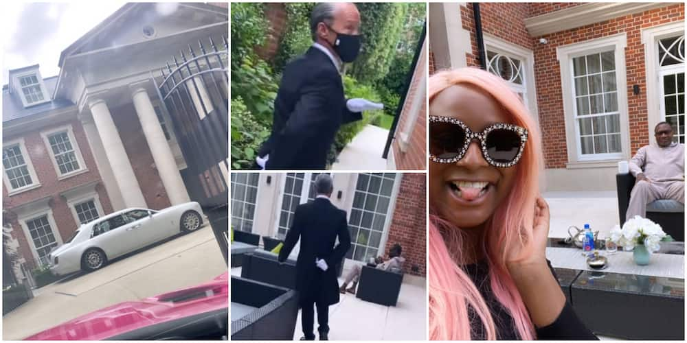 DJ Cuppy and her billionaire father