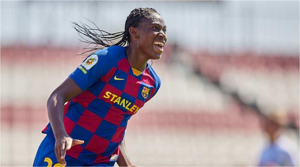 Nigerian striker wins 0restigious award, named best player of the decade