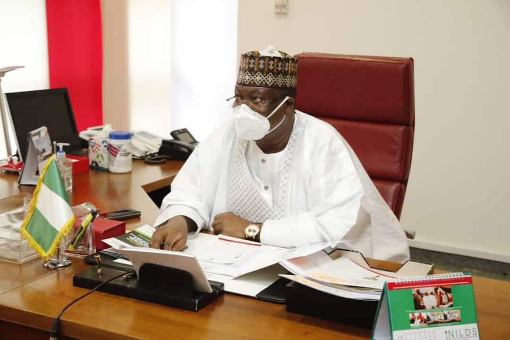 If you're tired of our faces, vote us out, Senate president tells Nigerians