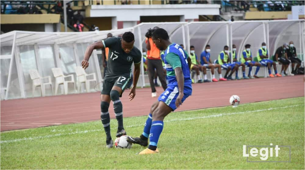 Osimhen, Etebo, Onuachu score as Super Eagles defeat Lesotho in Final AFCON 2021 Qualifying Match