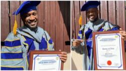 Peter Okoye bags honorary doctorate degree from Escae-Benin University in Edo state