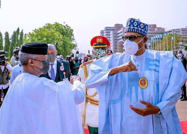 President Buhari speaks about selecting Osinbajo as running mate