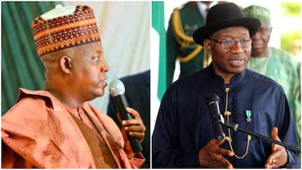Borno governor reacts to Jonathan's new book, accuses ex-president of lying about Chibok girls abduction