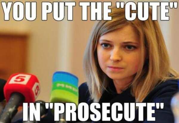 Natalia Poklonskaya meme
