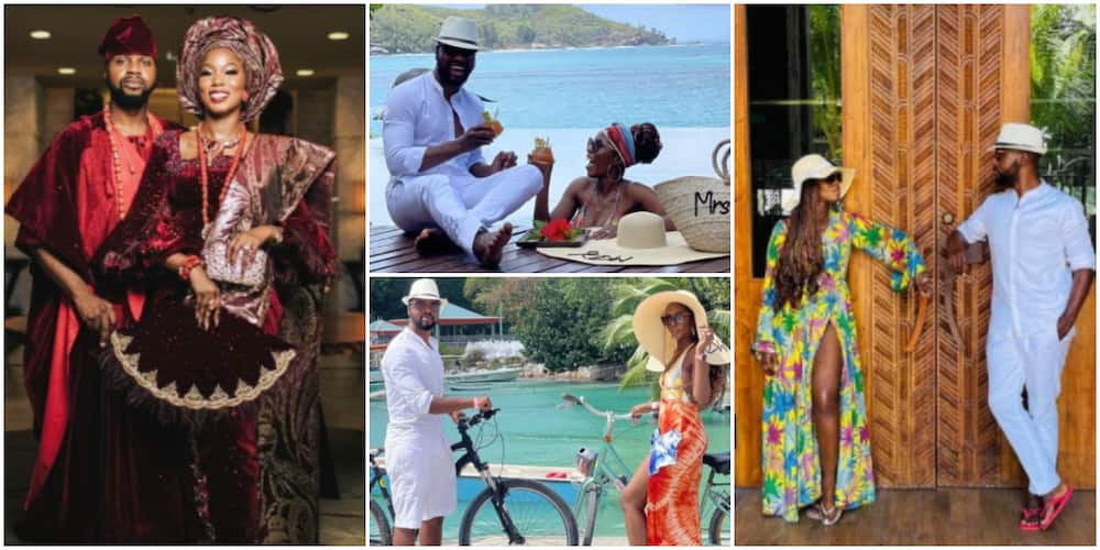 Debola and his wife go to Seychelles
