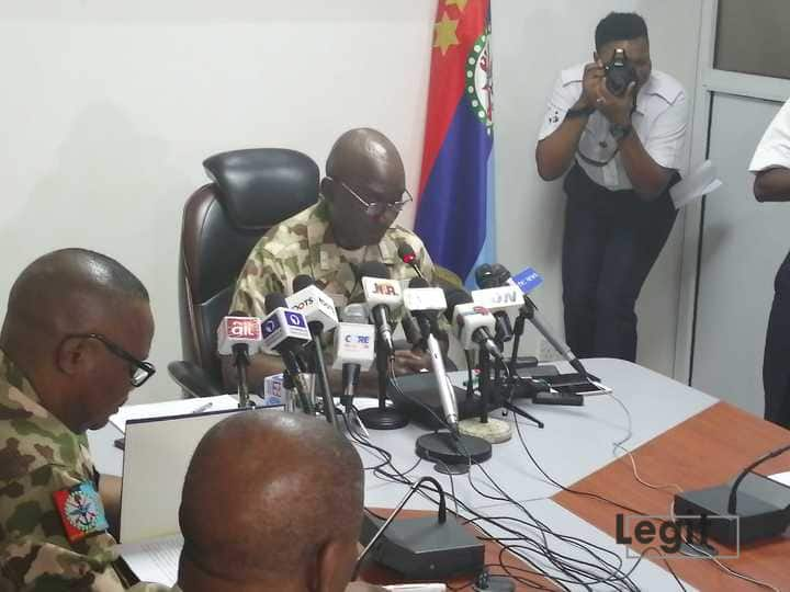 Nigerian military reacts to call for mutiny by opposition party chairman