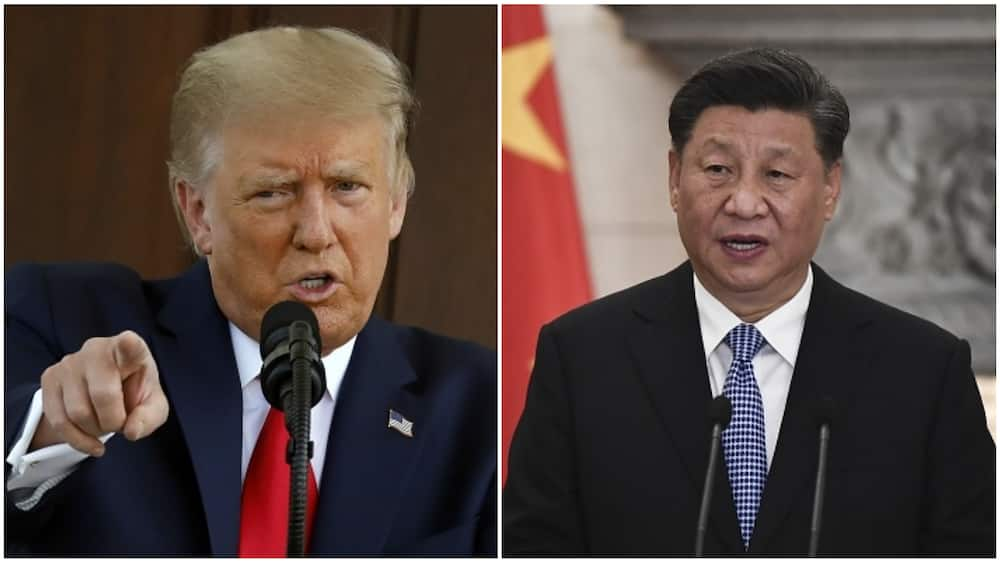 A collage of President Trump and XI Jinping. Photo source: Getty Images