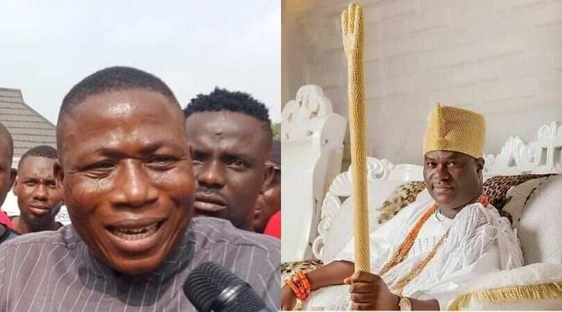 You're forgiven, Ooni tells Sunday Igboho