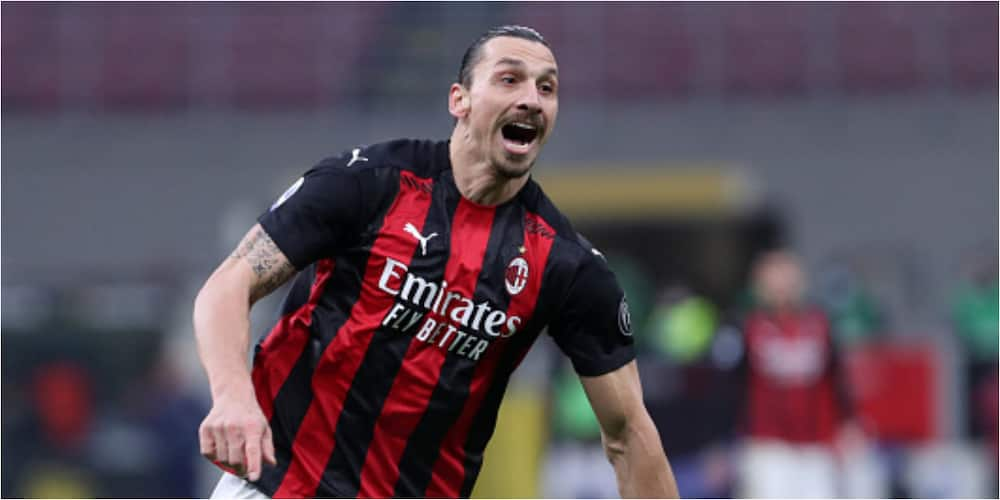 AC Milan coach hails Ibrahimovic after reaching landmark of career goals