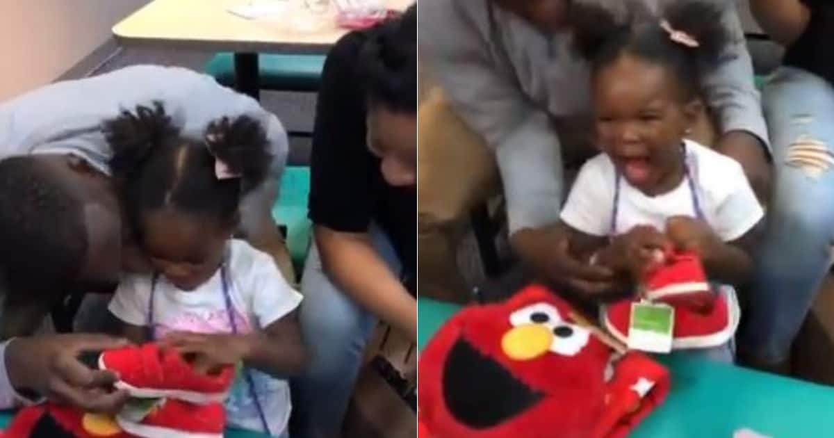 Reaction Of 2 Year Old Girl To Her Birthday Gift From Parents Is Hilarious