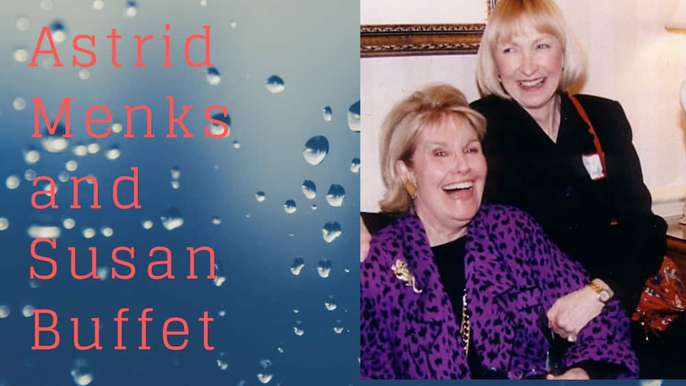 Astrid Menks and Susan Buffet
