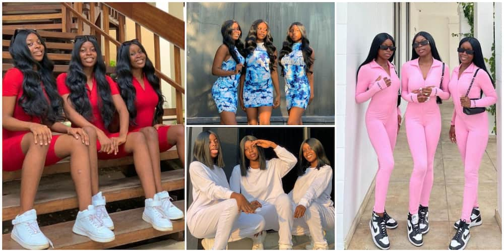 Meet Beautiful 20-Year Olds Nigerian Triplet Making Waves as Models and Why They Always Wear Same Clothes