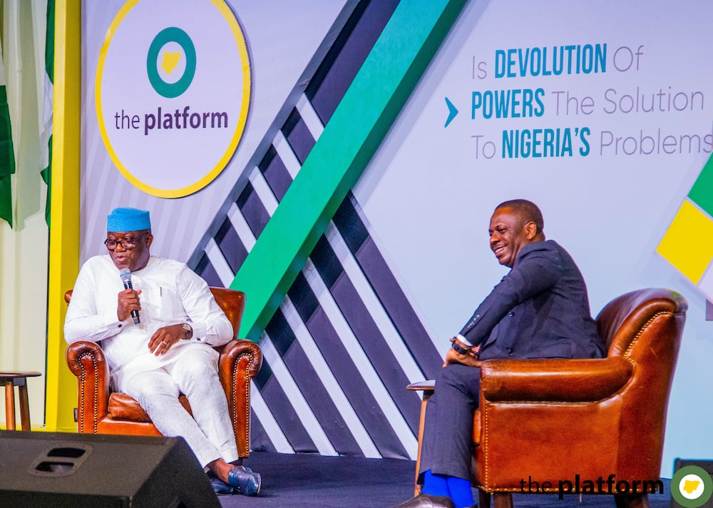 Kick out APC in 2023 if you're not satisfied, Fayemi tells Nigerian youth