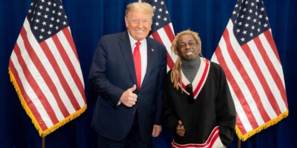 Rapper Lil Wayne publicly endorses Donald Trump, fans are not having it