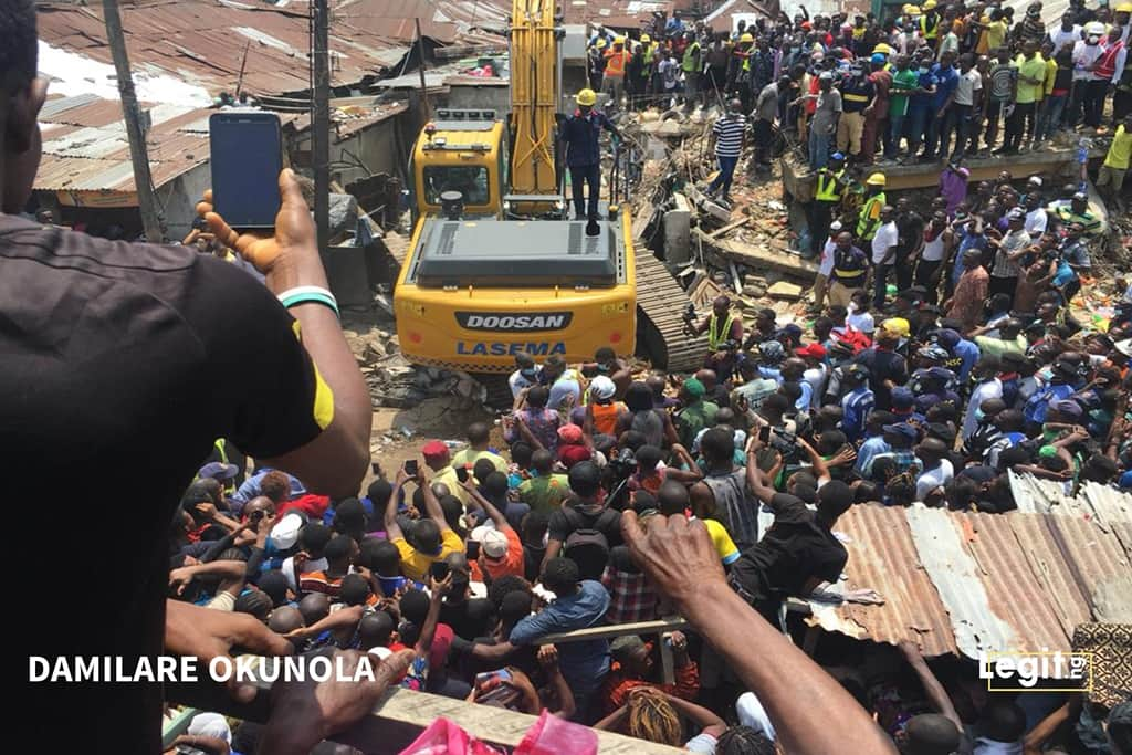 20 dead victims brought to hospital after Lagos school collapse - Commissioner