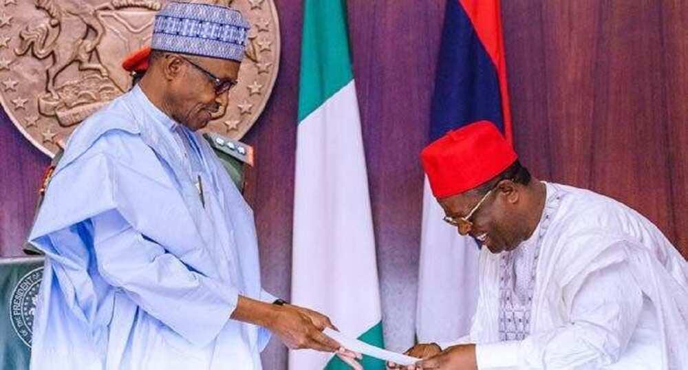 Buhari: Da mutane kamar Umahi, ina hangen kyakkyawar makomar dimokradiyya