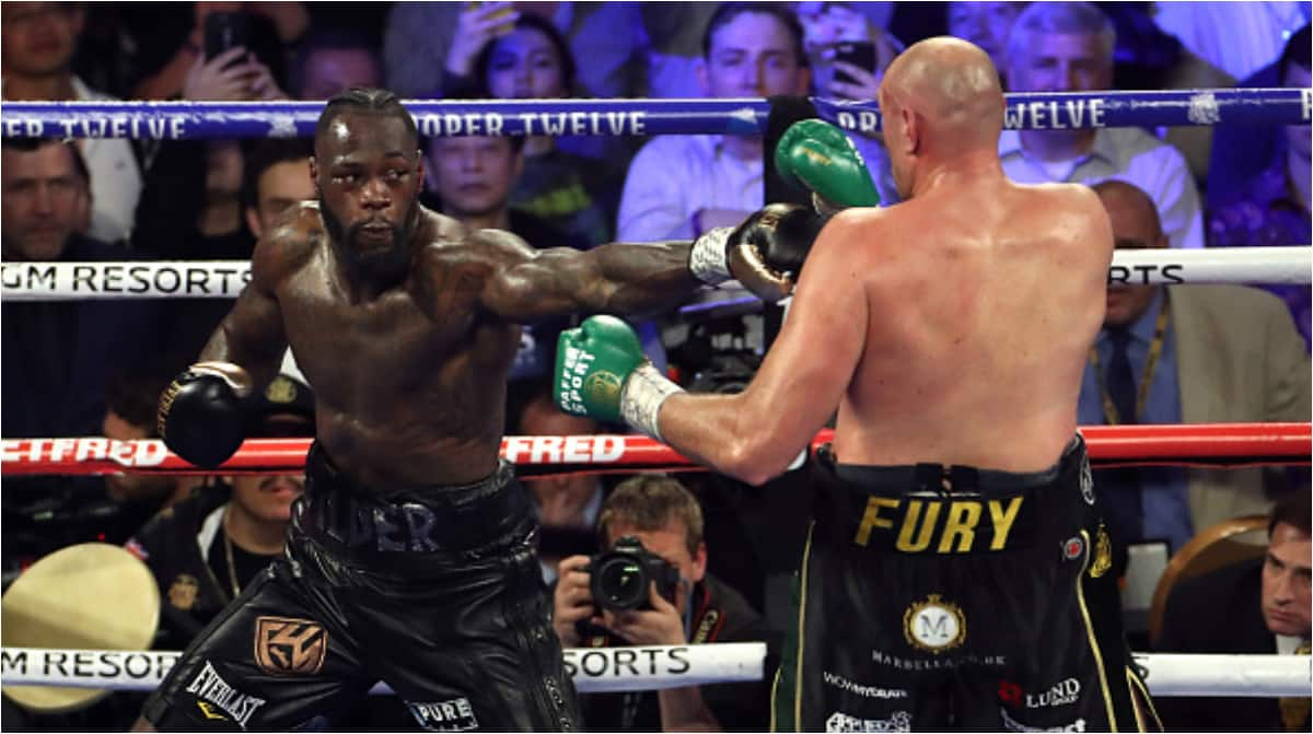 Wilder handed 6-week medical ban after defeat to fury, to return April 23