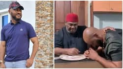 I won't let you down, actor Yul Edochie says months after dad Pete endorsed his presidential ambition