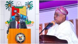 Olusegun Osoba: Sanwo-Olu showers praise on prominent APC chieftain as he clocks 82