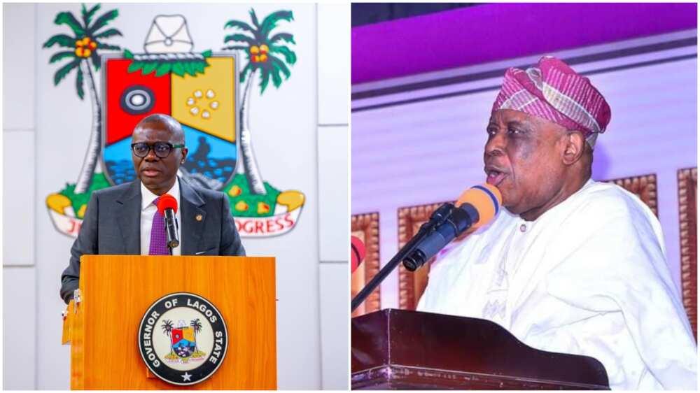 Olusegun Osoba at 82: Sanwo-Olu Showers Praise on Prominent APC Chieftain