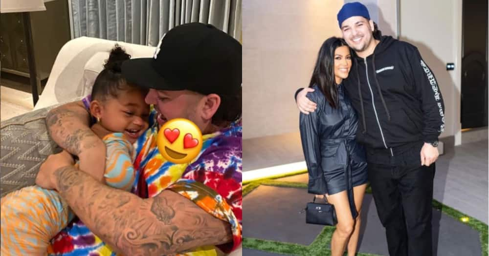 Rob Kardashian posts his photo for 1st time in a long time to celebrate Stormi