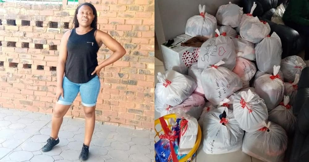 Woman donates essentials to orphanage ahead of 21st birthday