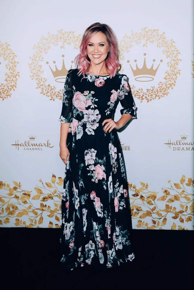 Emilie Ullerup at the TCA 2019