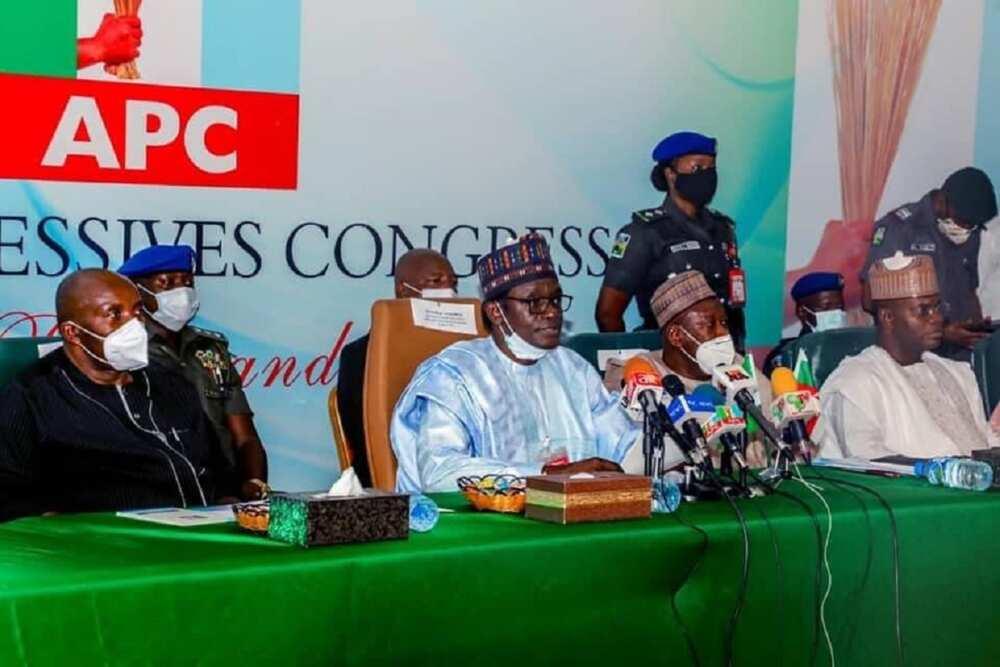 APC membership registration constitutional, Governor Buni replies Akande