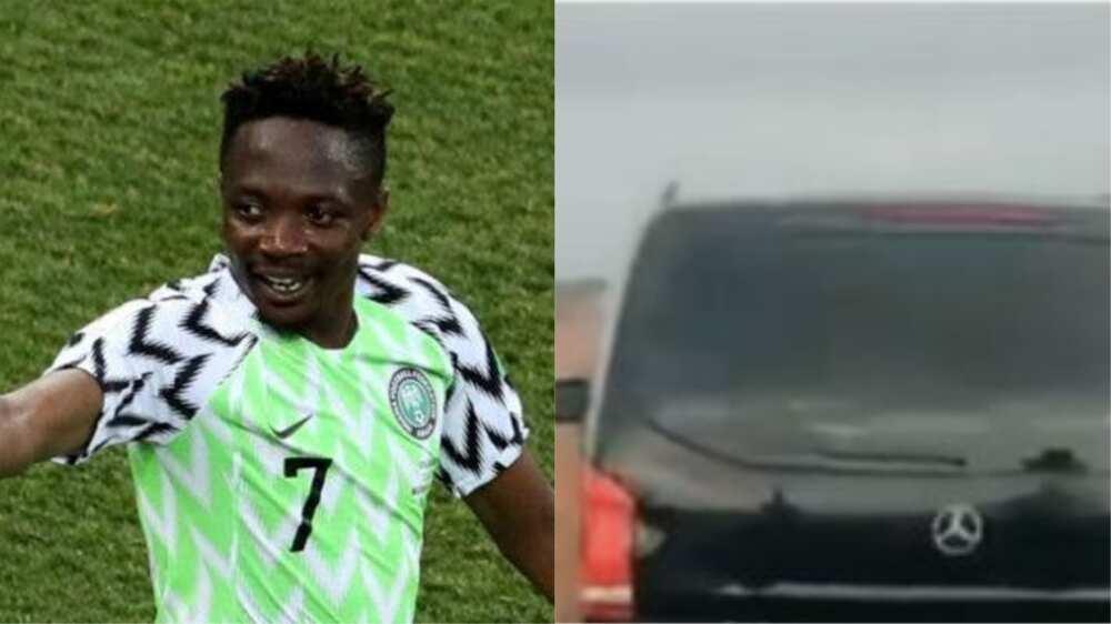 Ahmed Musa, dan wasan Super Eagles, ya wallafa bidiyon sabuwar motarsa kirar Benz Vito
